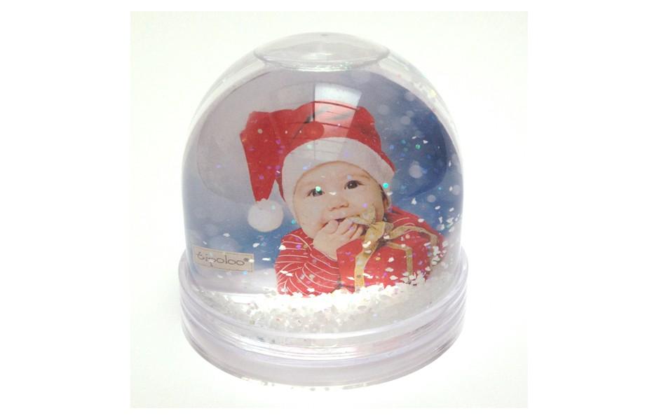 boule de neige porte photo personnalisable coffret cadeau. Black Bedroom Furniture Sets. Home Design Ideas